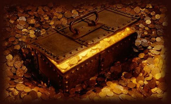 dinero enterrado
